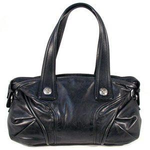 FRANCESCO BIASIA Calf Leather Satchel - ITALY